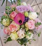bloemen bruidsmeisje aangepast
