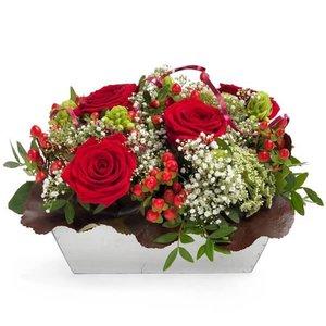 Rode rozen magie
